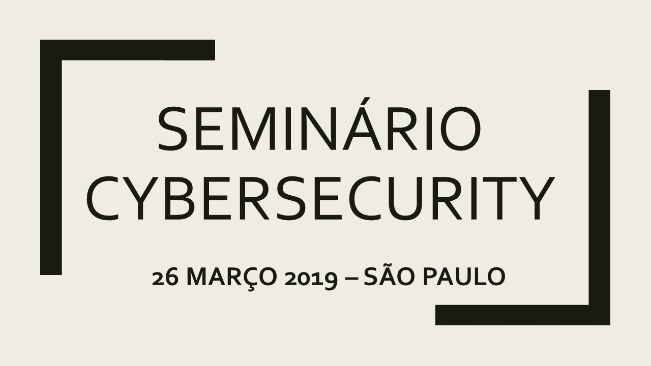 Seminário Cybersecurity